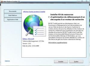 screenshot SEO toolkit