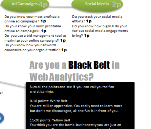 Quizz Web Analytics
